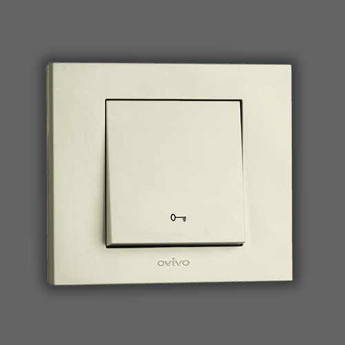 CONTROL SWITCH - DOOR WHITE