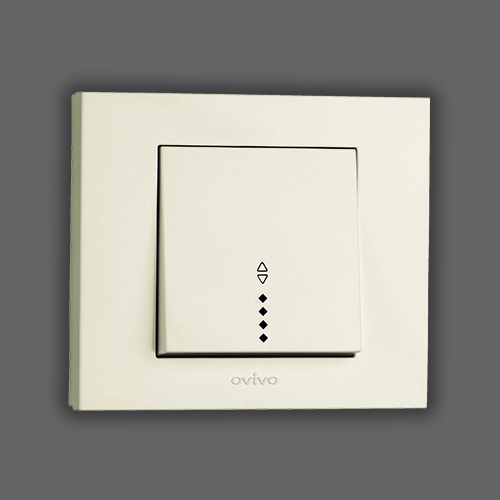 TWO WAY SWITCH ILLUMINATED (LED LIGHT) - WHITE