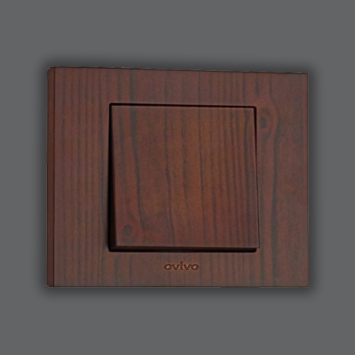 ONE WAY SWITCH - WALNUT