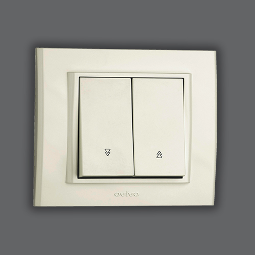 VENETIAN BLIND SWITCH - WHITE
