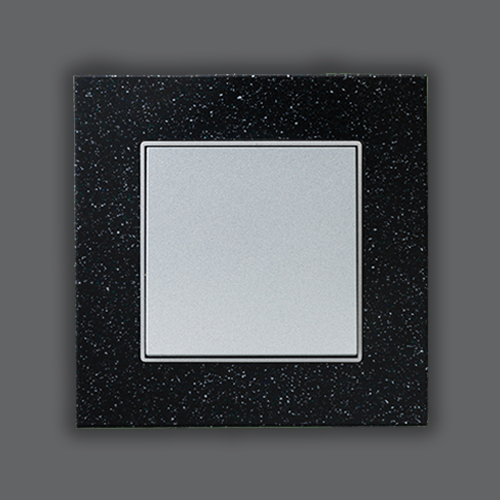 SINGLE FRAME-ELEMENTS QUARTZ + MAT SILVER